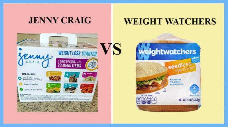 Jenny Craig vs Weight Watchers